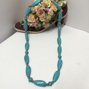 Gorgeous Ralph Lauren Turquoise Stone Necklace